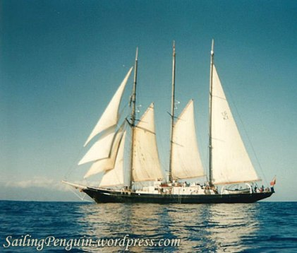 Sir Winston Churchill - Schooner
